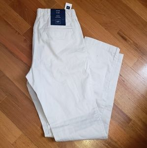 NWT GAP Slim Fit Khaki Pants